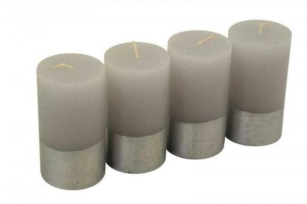 Rustickerze Pan 110/60, grau/silb.