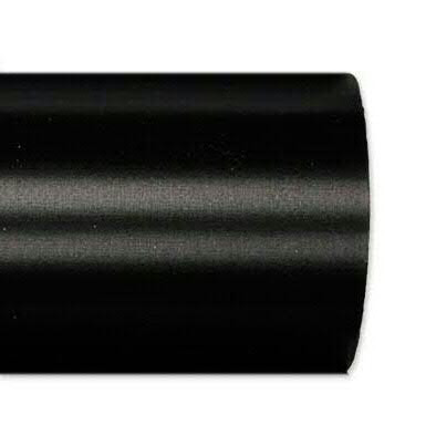 Kranzband 2601/075mm 25m Satin, 100 schwar