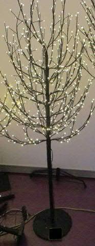 LED Baum 180cm 900LED, schwarz