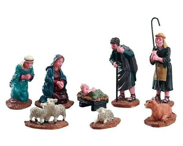 Nativity Figurines S/8