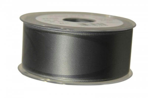 Band Satin 22355/40mm 25m, 036 grau