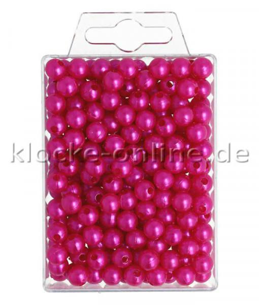 Perlen 8mm 250St., pink