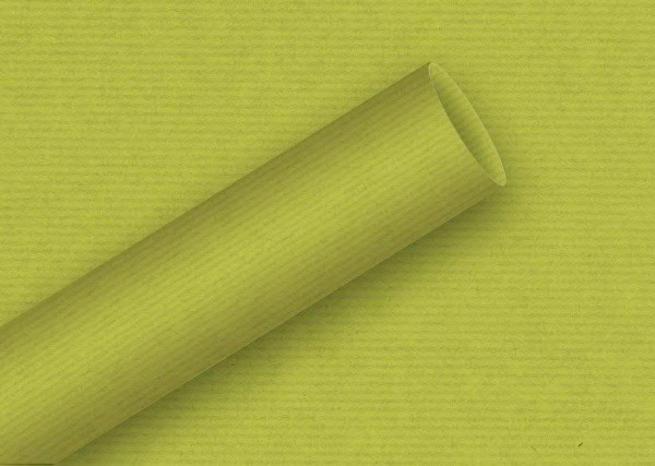 Geschenkpapier 2mx70cm Kraft, anis