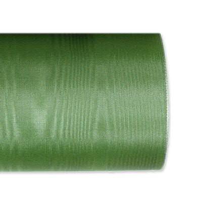 Kranzband 4020/125mm 25m Moire, 448 grün