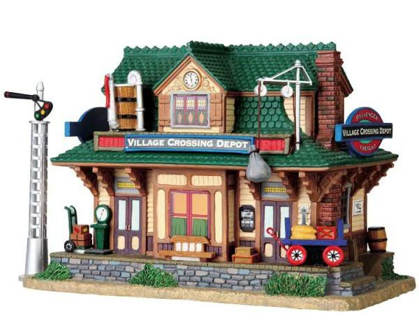 Village Crossing Depot 14x17,8cm Beleuchtet