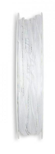 Kordel 7826/4mm 18m mix, 11 weiß