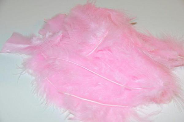 Maraboufedern 30g, rosa