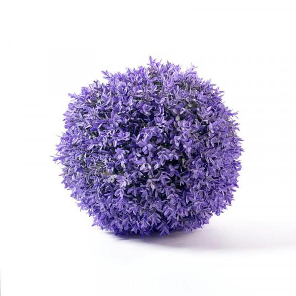 Lavendel Kugel 25cm, lila