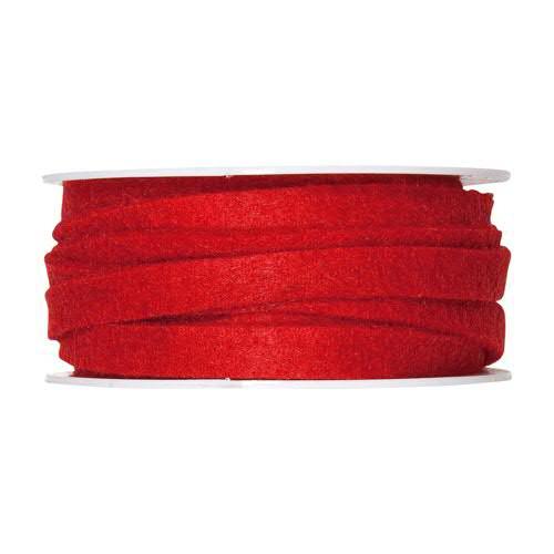 Filzband 61700/10mm 5m, 77 rot