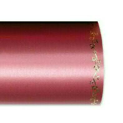 Kranzband 2505/125mm 25m Satin Efeurand gold, 725 altros