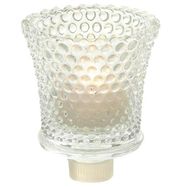 Glas Partylicht D6,5H8cm, klar