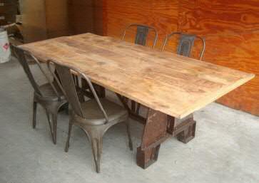 Tisch Holz 220x100x76cm