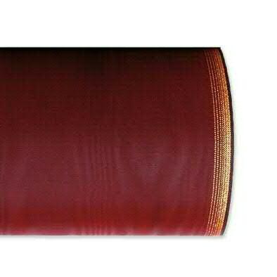 Kranzband 6694/150mm 25m Moire Goldrand, 677 weinro