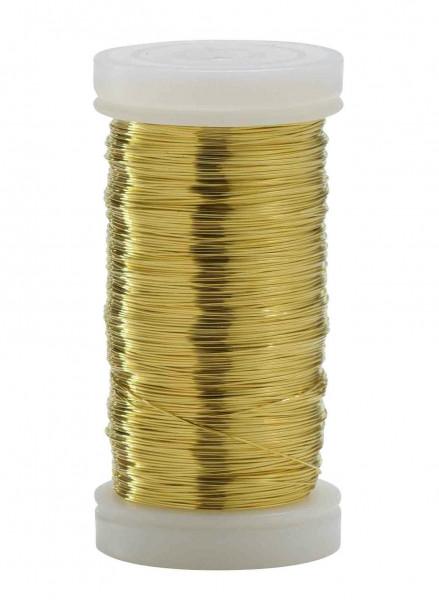 Myrthendraht 0,20 Rl/100g, gold