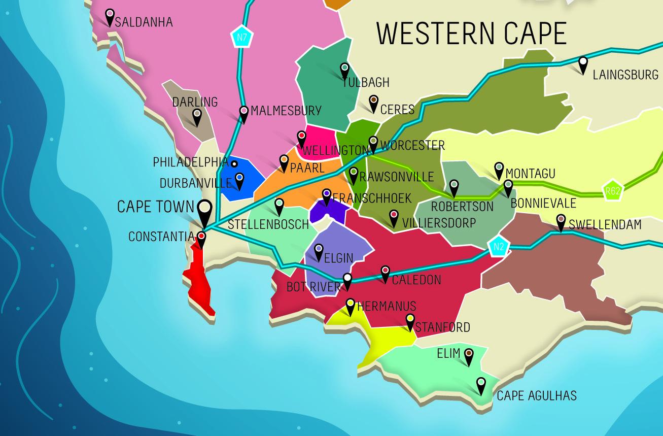 Weinregionen_Karte-Suedafrika