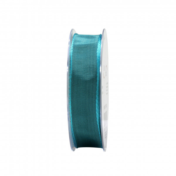 Band 9660/25mm 25m, 371 saphir