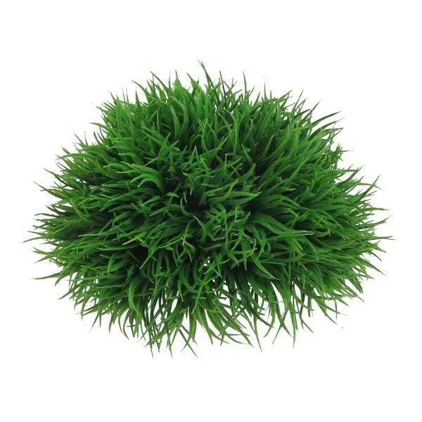Klocke Deko gras halbkugel 18cm grün gräser gräser moosartikel