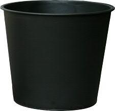 Einsatz KE105 D16cm H12cm rund, schwarz