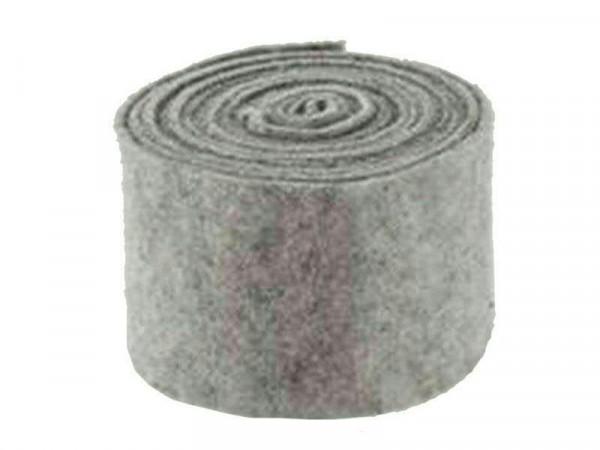 Filz Topfband B15cm 5m GR02, h.grau
