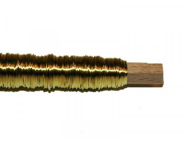 Dekodraht 0,55 Rl/100g, gold