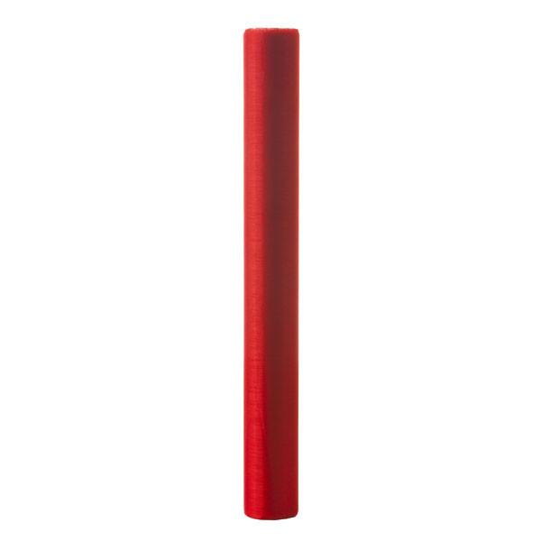 Stoff 30cmx3m Organza, rot