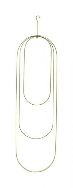 Ring Metall S/3 18x60/15x45/12x30cm ov, gold