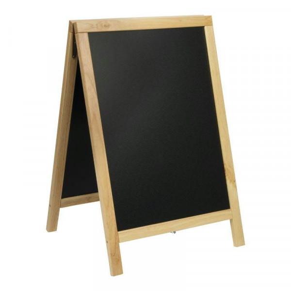 Gehwegtafel 85x55,5x48cm, buche