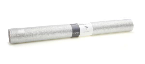Stoff 5735/470mmx5m Lucente, 01 silber
