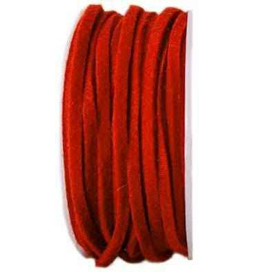 Filzband 61700/4mm 15m, 77 rot