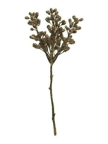Zapfen Zweig 33cm, rot