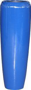 Vase FS147 H97cm, glz.clasbl