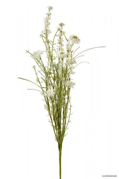 Wiesenblume 60cm, weiß
