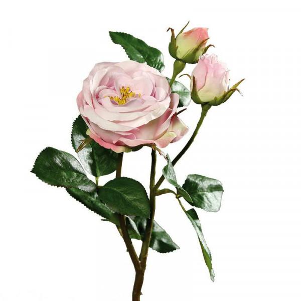Rose verzweigt 46cm, pink