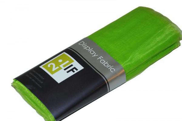 Stoff 150cmx3m Organza, apfelgrün