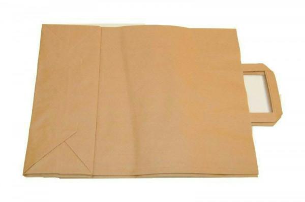 Tragetasche Papier 32x12x41cm, natur