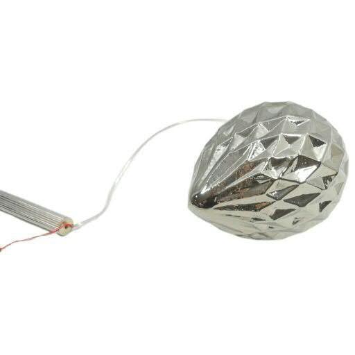 LED Zapfen 11x21cm für Batterie