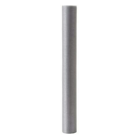 Stoff 30cmx3m Organza, grau