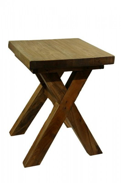 Hocker Holz SP 35x35x45cm, natur