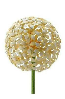 Gartenstecker Allium 15x100cm, gelb
