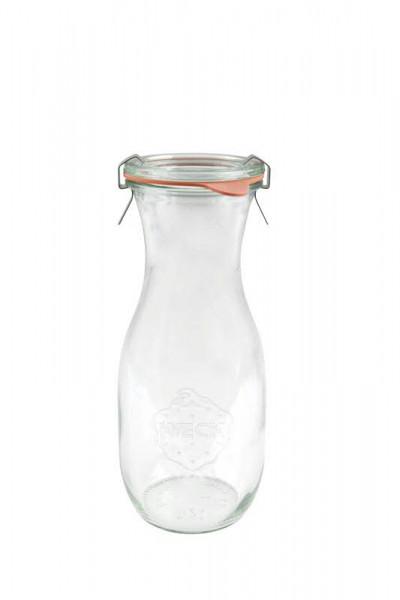 Weckglas 530ml Saftflasche, G 54x67
