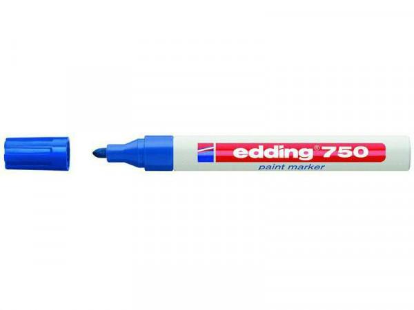 Edding SP 750 Paintmarker, blau