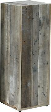Säule HZ365 H80cm, used wood