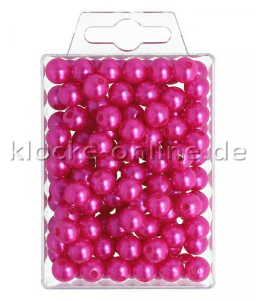 Perlen 10mm 115St., pink