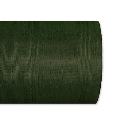 Kranzband 5025/125mm 25m Moire, 548 d.grün