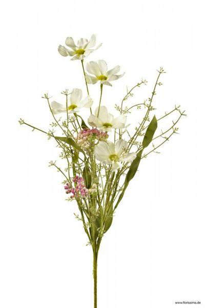 Wiesenblume 50cm, weiß