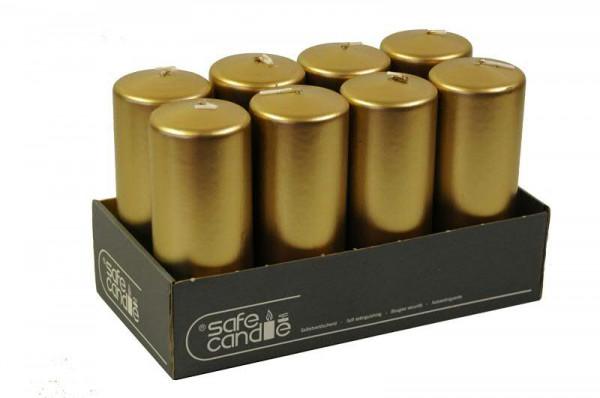 Stumpenkerzen 150/60, antikgold
