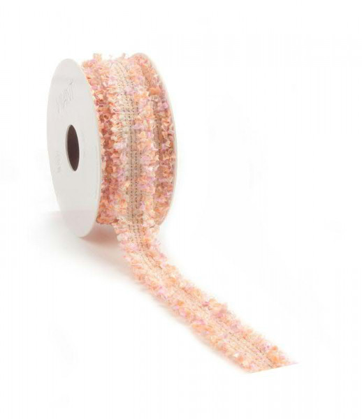 Band 5691/20mm 5m, 10 rosa/or