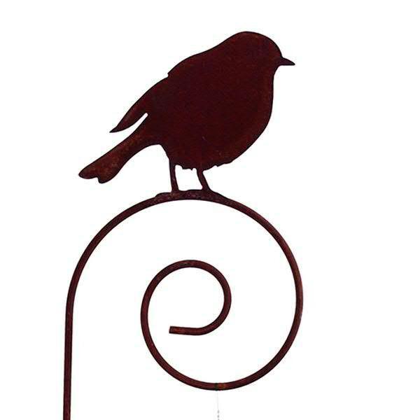 Rost Vogel H19cm auf Stab L150cm