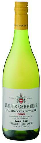 Wein Cabrière Chardonnay/Pinot Noir Jg.2017 | 0,75l | Südafrika, weiß