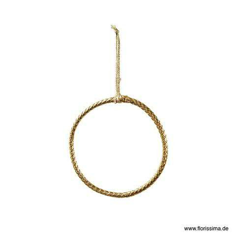Ring Poly D13,5cm, gold